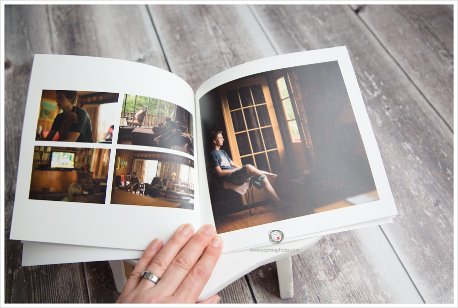 photo book family photography
