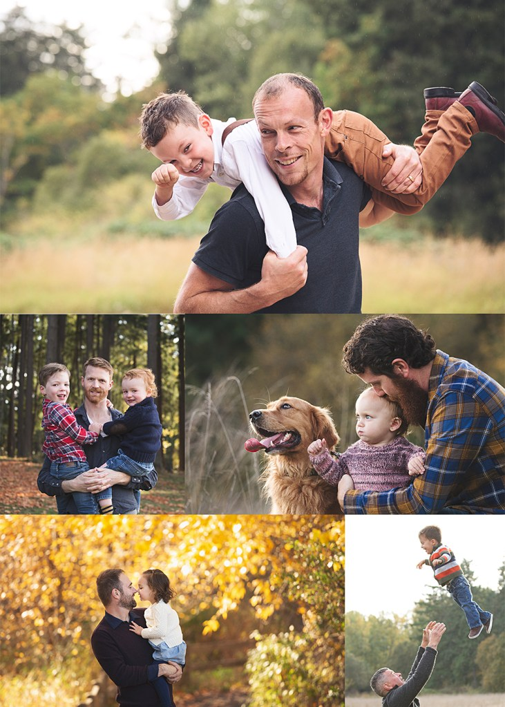 family photos with dad