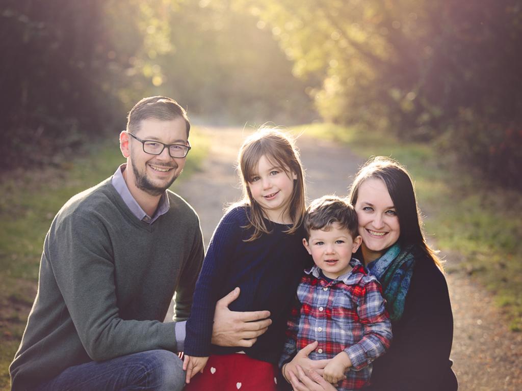 family mini session fall Victoria BC
