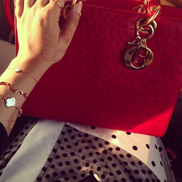 Latifa Al Shamsi's Van Cleep & Arpels Bracelets
