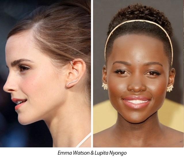 Emma Watson Lupita Nyongo Ear Wire