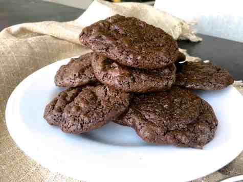無麵粉無糖美式巧克力豆餅乾