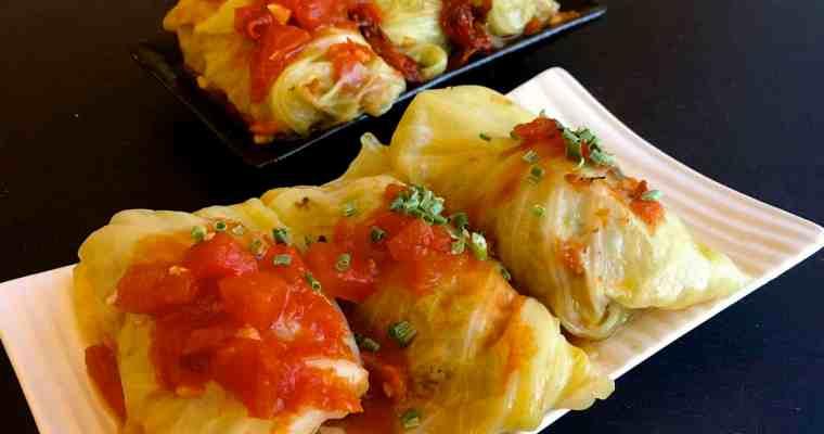 高麗菜豬肉捲Stuffed cabbage roll(壓力鍋)