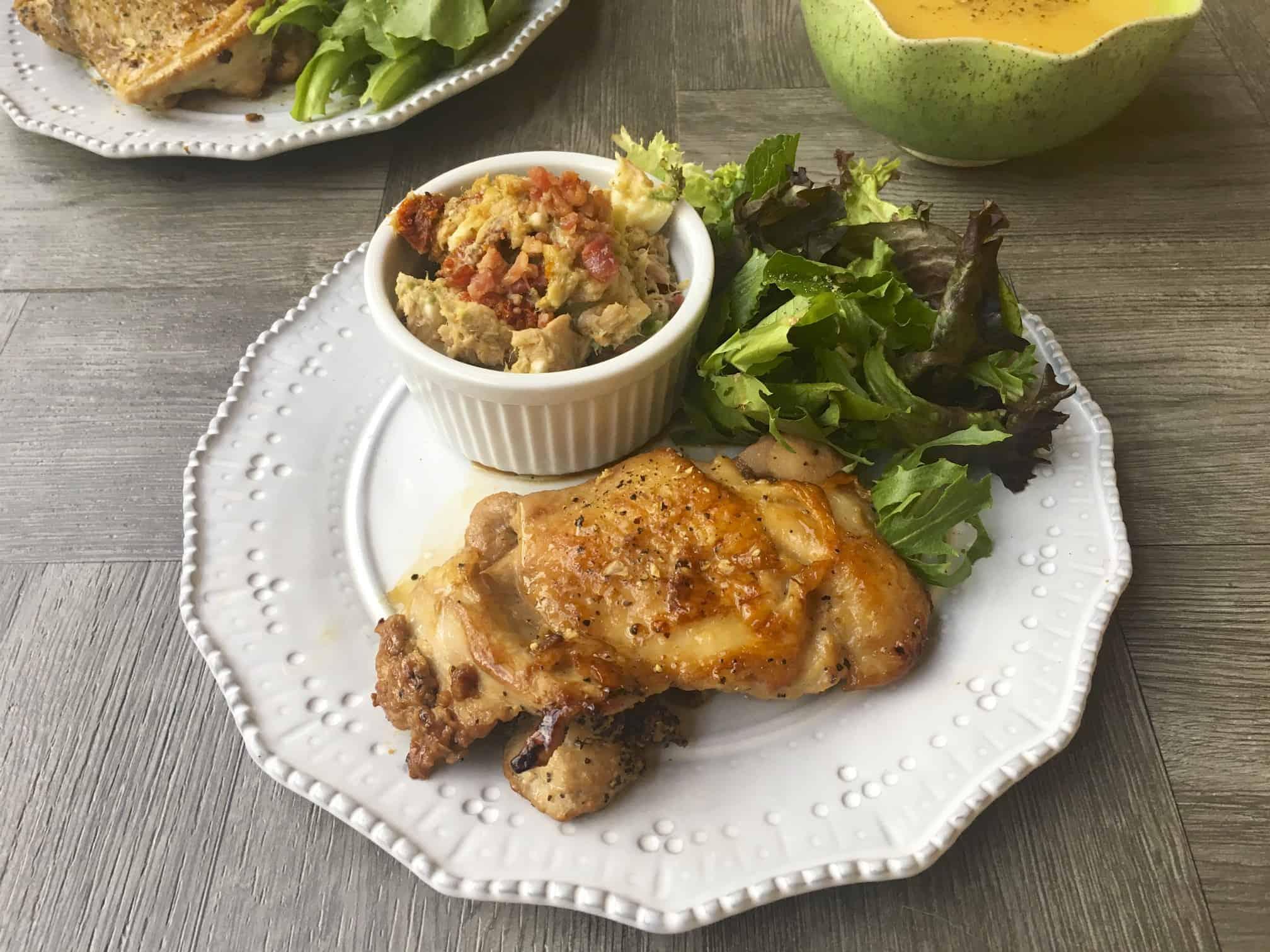 無糖版照燒雞腿排 Sugar Free Teriyaki Chicken &自製無糖照燒醬