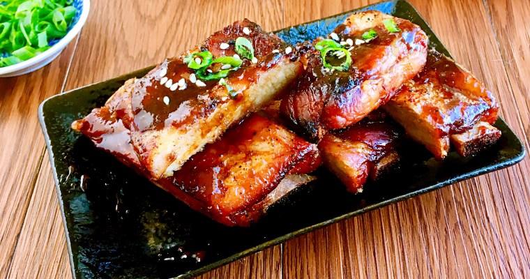 蜜汁排骨 (生酮版)-中式烤BBQ蜜汁肋排,讓你吮指到欲罷不能!