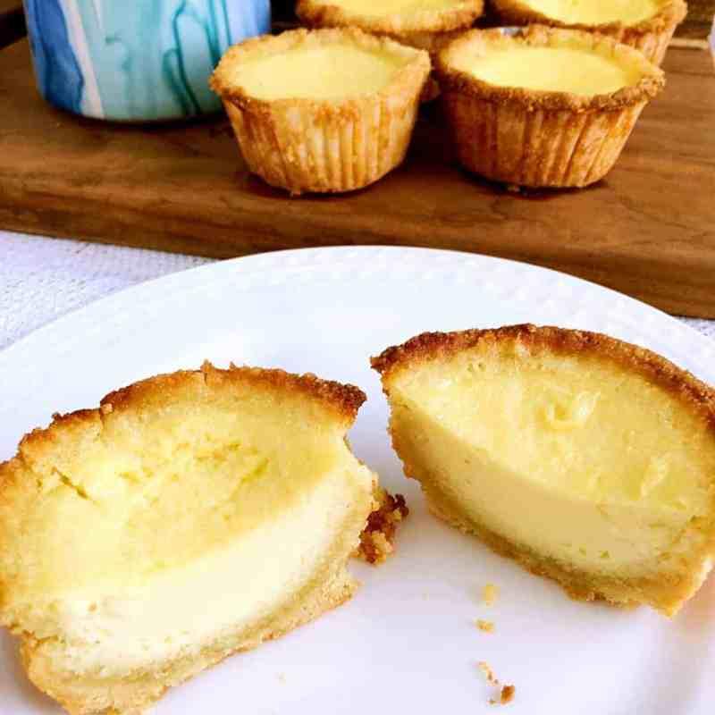 [生酮甜點] 生酮脆皮蛋塔 Keto Egg Tart – 吃不膩的美味-低碳無糖無麩質