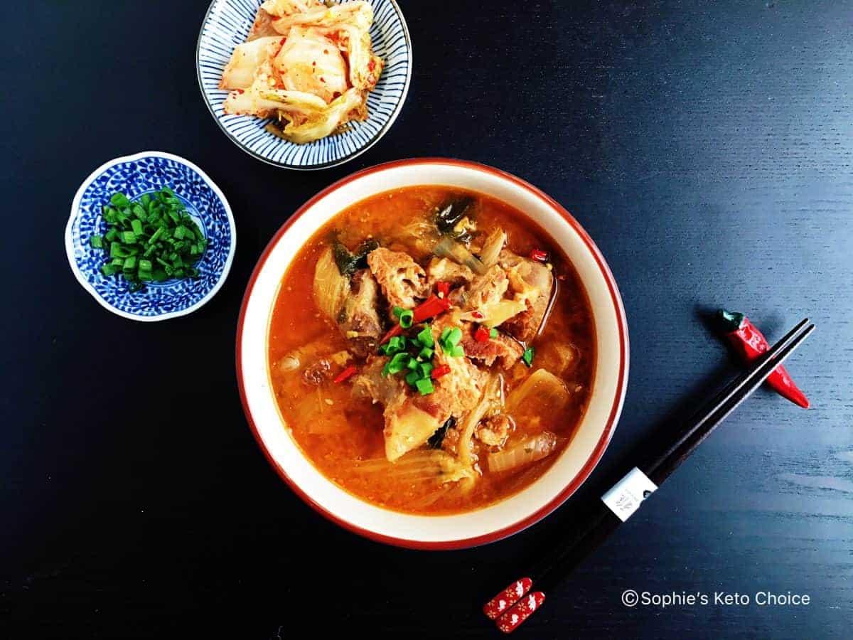 韓國豬骨湯 Korean Pork Bone Soup (Gamjatang)- 韓國經典料理