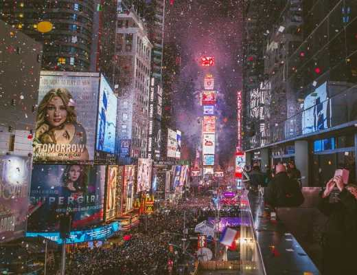 New Years Eve in New York