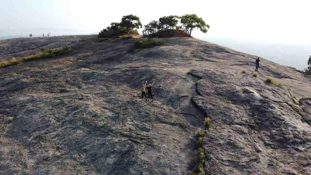 drone Pidurangala Rock