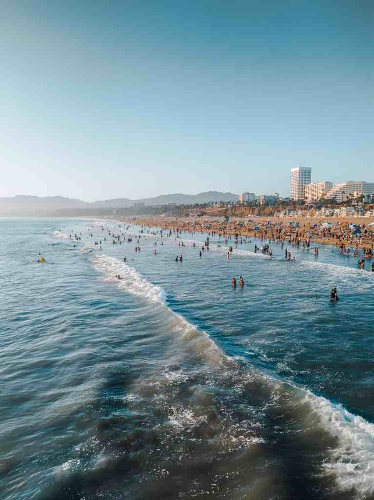 santa monica travel from home
