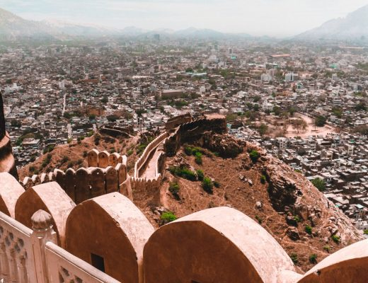 summer holiday destinations in India fort templte