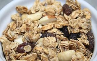 Healthy Homemade Granola Nutty Cinnamon Honey - Sophisticated Booty