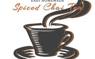 Easy Homemade Spiced Chai Tea - Sophisticated Booty