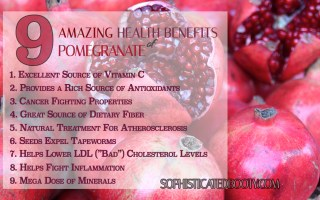 9 amazing health benefits of pomegranate - sophisticated booty