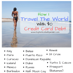 travel the world, credit card debt, free