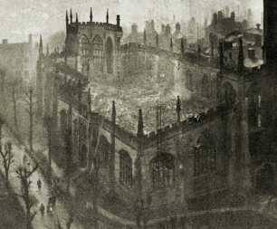 Coventry Cathedral After The Blitz