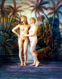 """""""Eve, Adam, and the Garden of Earthly Delights"""""""