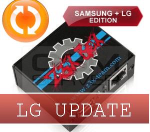 Z3X LG 2-3G Tool 9.44. Nuevos Teléfonos Agregados