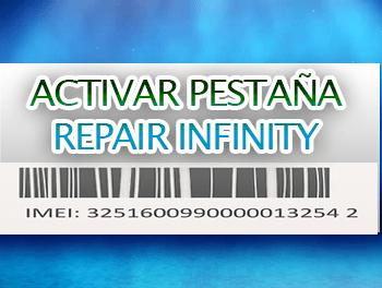 Como Activar la pestaña repair en infinity box / dongle