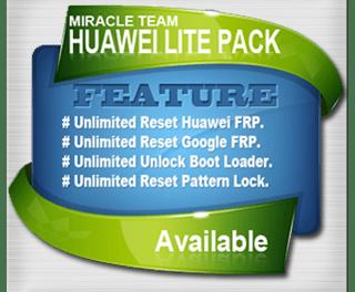 Miracle Huawei Tool Pack 1.7