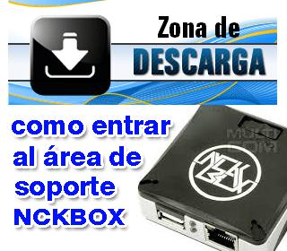 Como Acceder al Área de Soporte en Nck Box