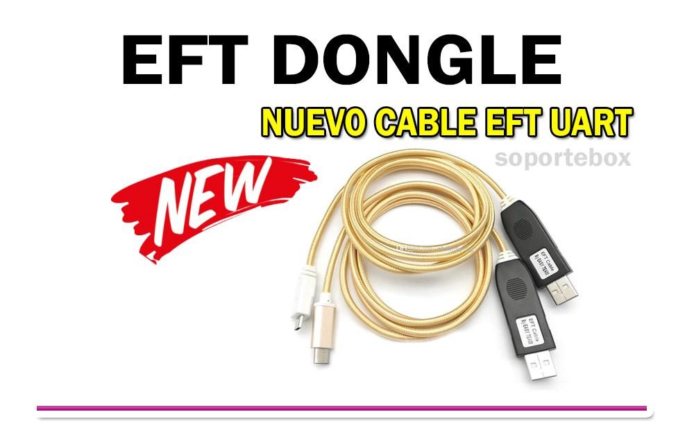 Información acerca del Cable Uart de EFT Dongle