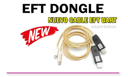 Información acerca del Cable Uart de EFT Dongle
