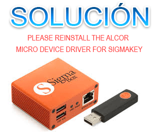 Como Solucionar Please reinstall the Alcor Micro device driver for SigmaKey/Box/smartclip2