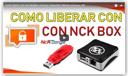 Como liberar con nck dongle y nck box