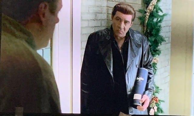 Silvio at Tony's Door