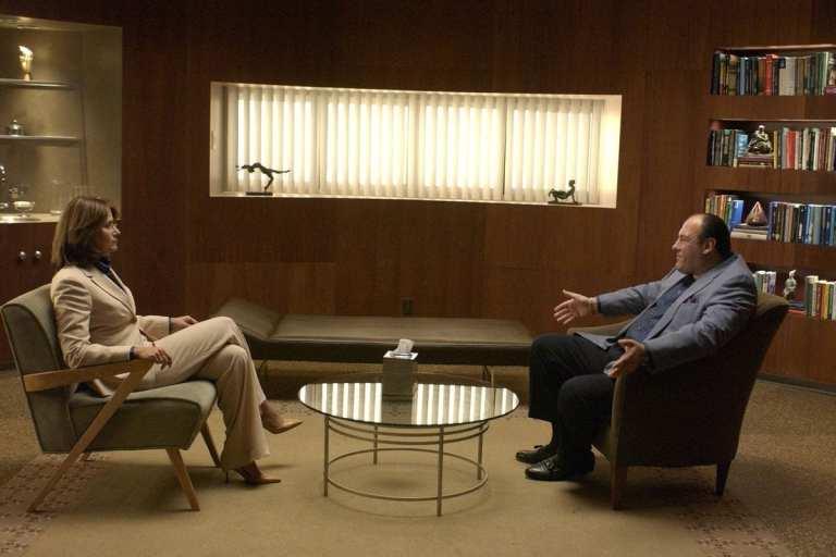Tony Soprano talking to Dr, Melfi in Cold Cuts
