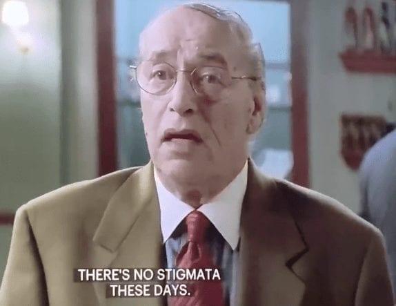 "Carmine Lupertazzi talking to Tony Soprano in Season 3, Episode 3, ""Fortunate Son"""