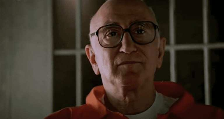 "Junior Soprano talking to the FBI in Jail in Season 1, Episode 13, ""I Dream of Jeannie Cusamano"""