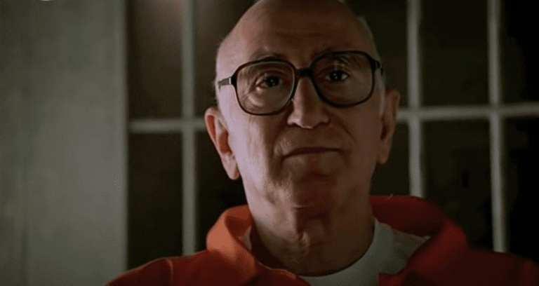 "Junior Soprano talking to the FBI in Jail in Season 1, Episode 13, ""I Dream of Jeannie Cusamano"""