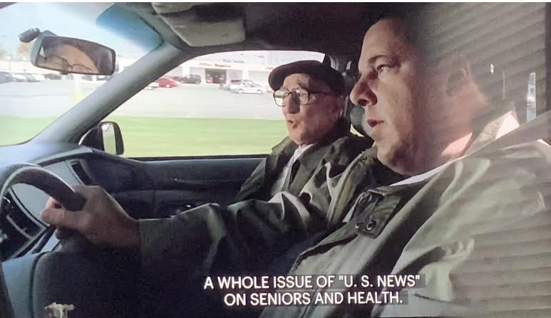 """Junior Soprano talking to Bobby Bacallieri in """"Second Opinion"""""""
