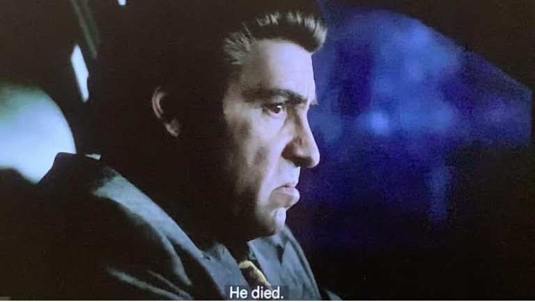 Silvio Dante talking to Tony in the car about Gary Cooper