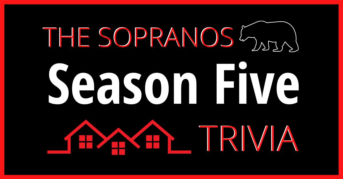 The Sopranos Season Five
