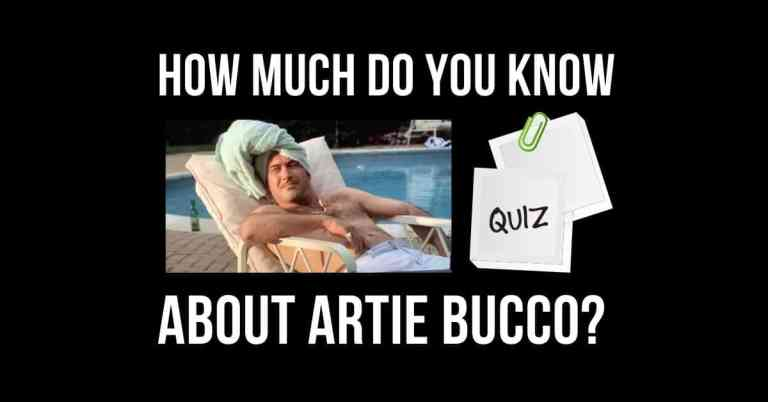 Artie Bucco quiz cover image
