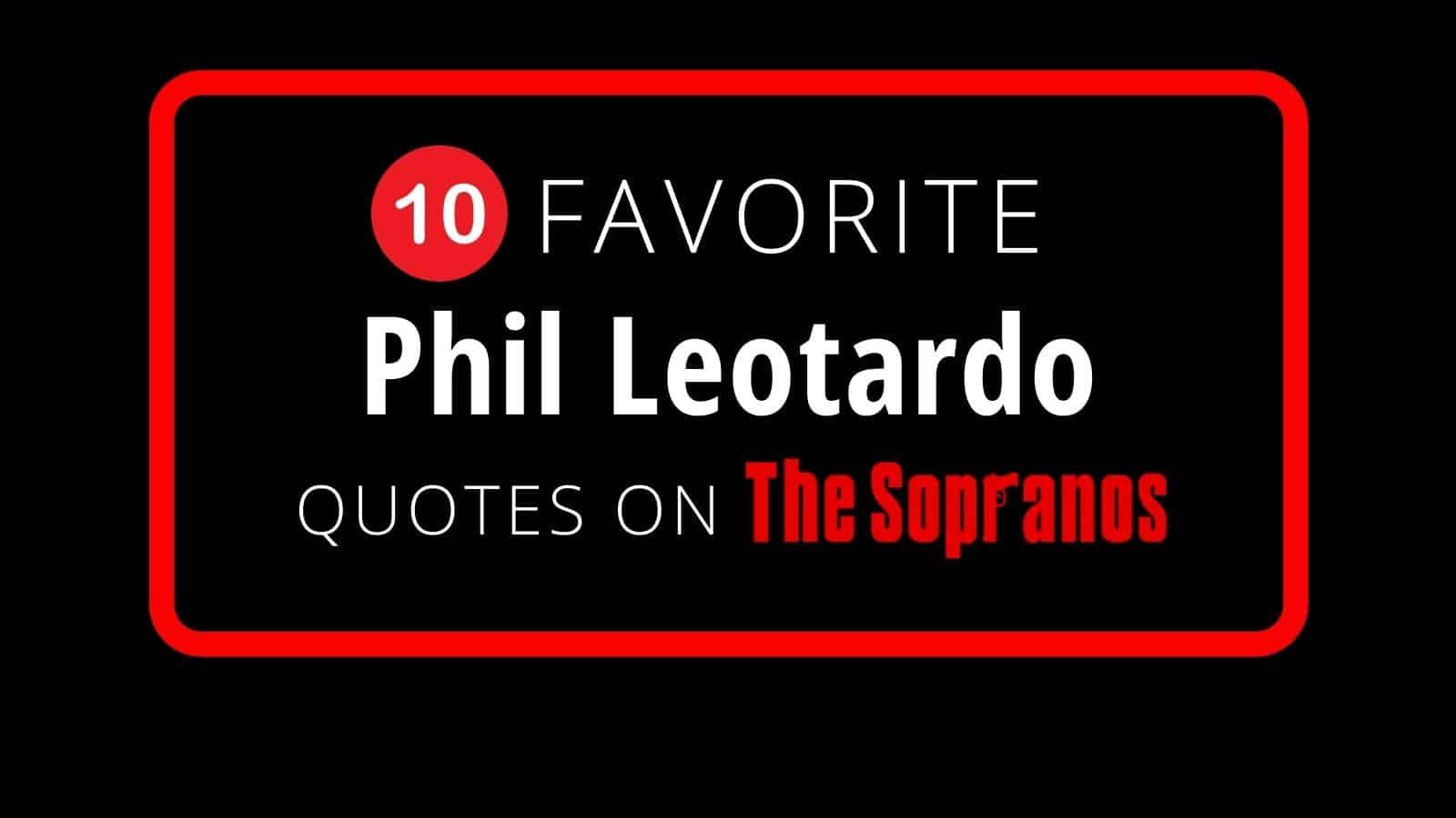 phil leotardo blog cover image