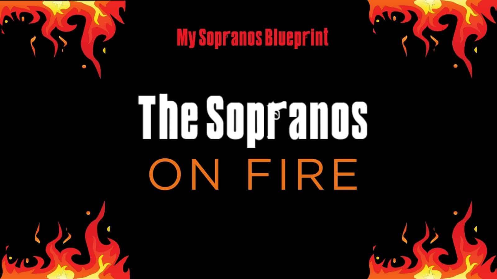 the sopranos fire cover image