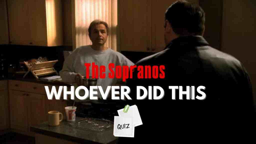 The Sopranos Whoever Did This Episode Trivia