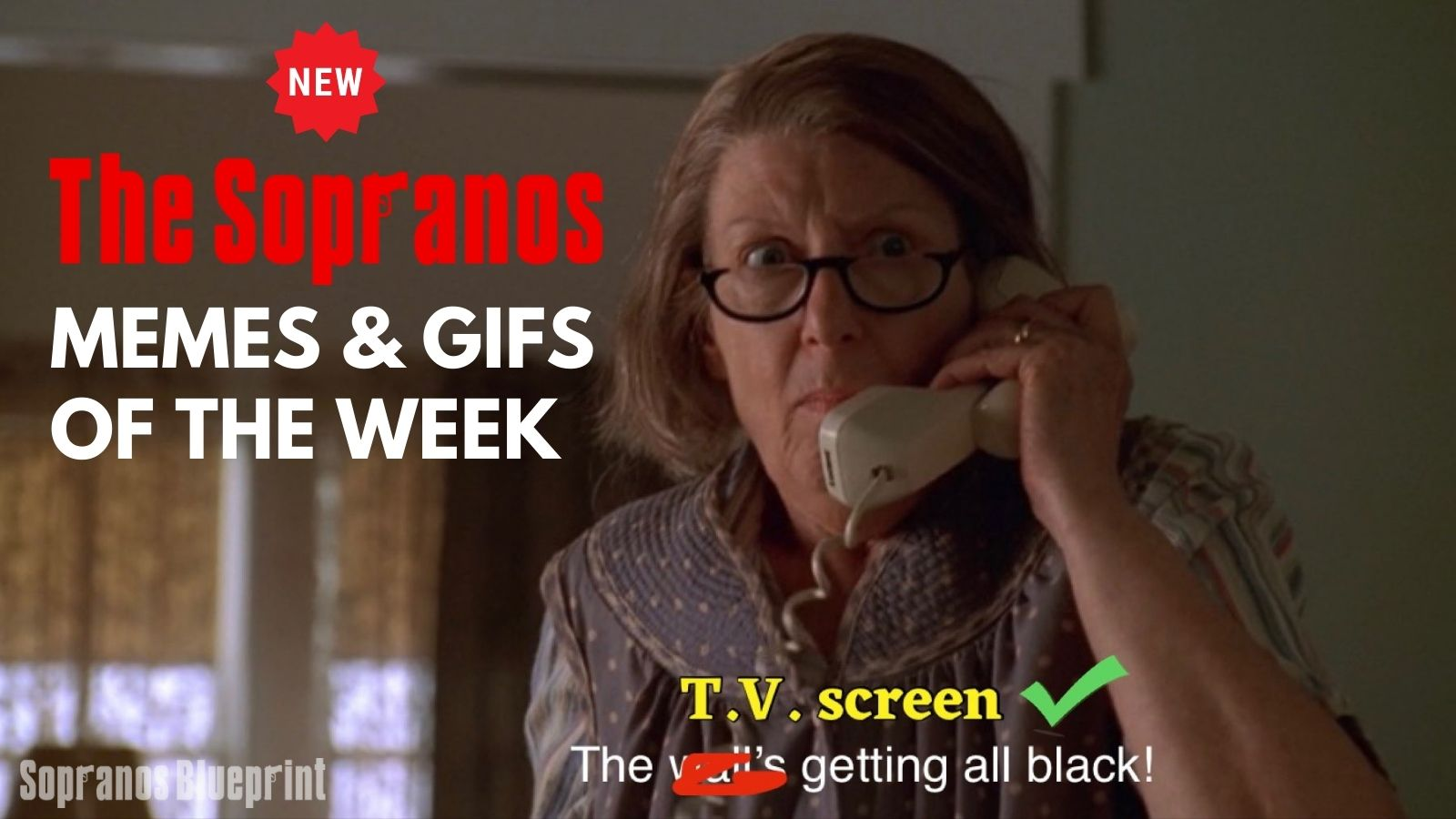 sopranos memes and gifs of the week blog image