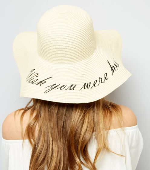 chapeau-souple-écru-wish-you-were-here