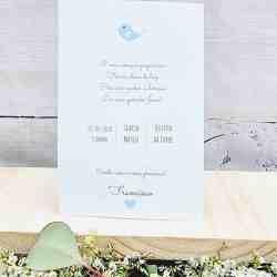 Convite (frente e verso)