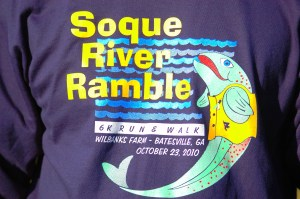 2010 Soque River Ramble TShirt