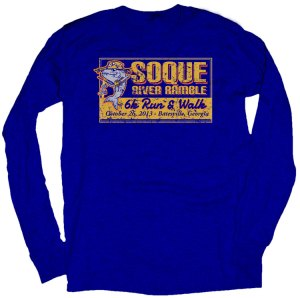 2013 Soque River Ramble T-shirt