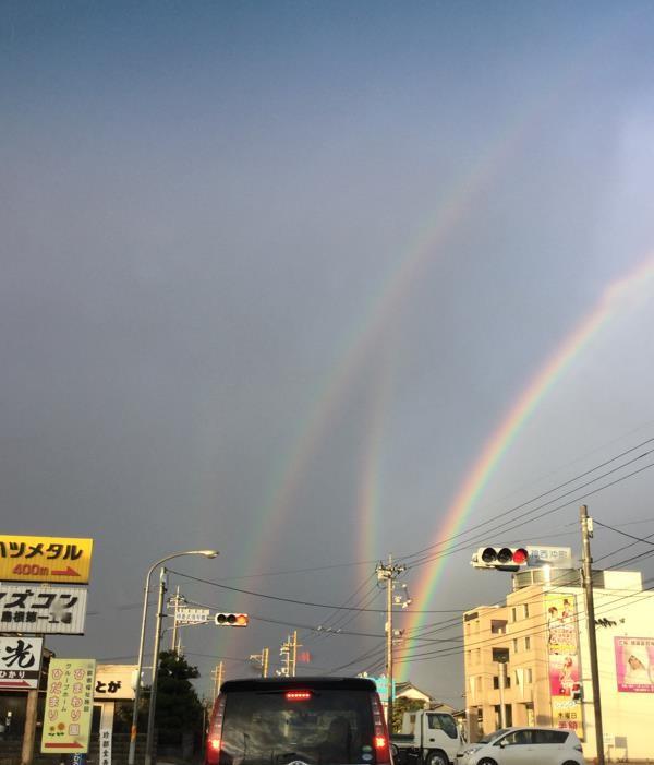 虹について②~ダブルがあるならトリプルもあるの?