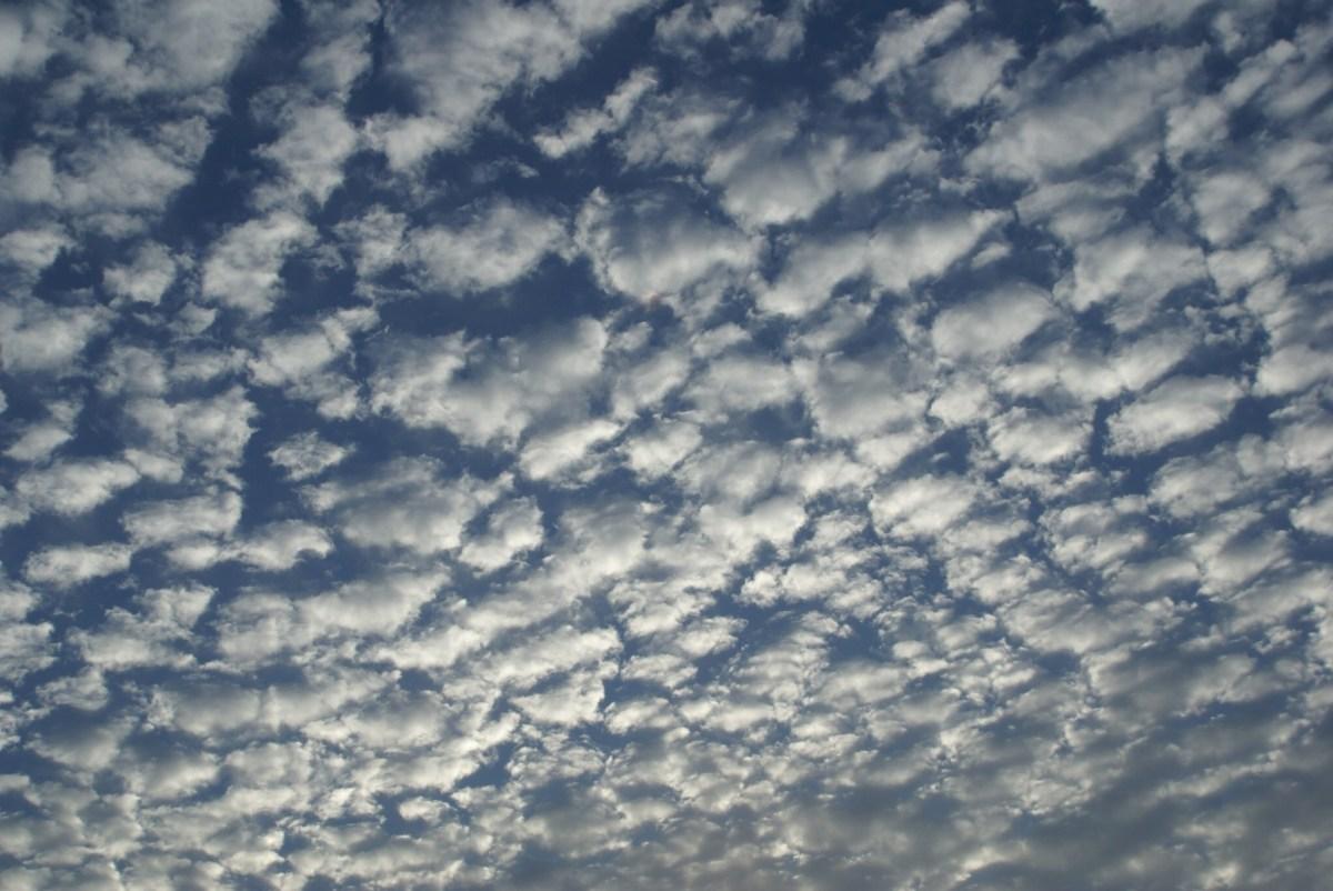 かわいくて、ワクワクする雲~高積雲 | soracoco