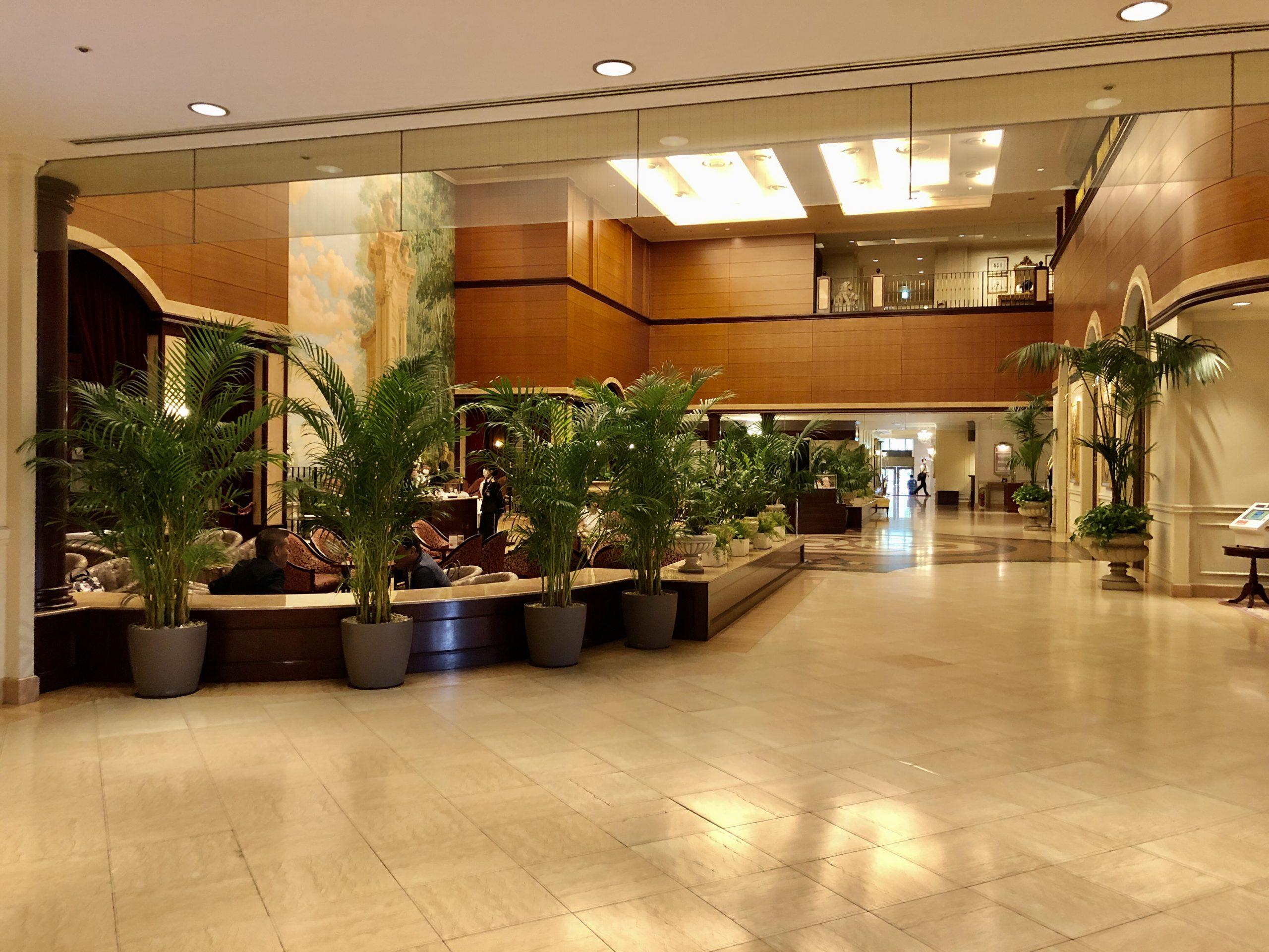 第一ホテル東京 ロビーラウンジ 入口