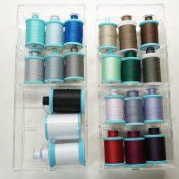 【手芸収納】簡単に手作りできる!ミシン糸とボビンを一緒に収納する方法